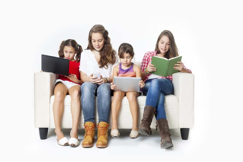 E-reading trends among young people