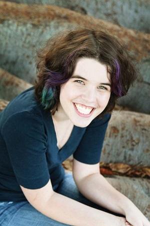 Hannah Moskowitz on the edge