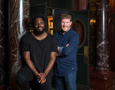 Dual power: Jason Reynolds and Brendan Kiely