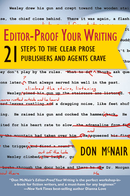 """GIVEAWAY: Win """"Editor-Proof Your Writing"""" by Don McNair!"""