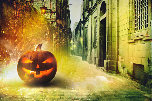 Mischief night Halloween writing prompt