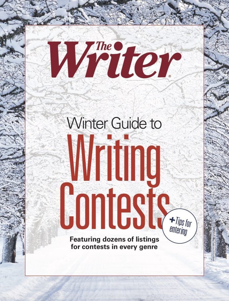 Free Guide - Winter 2019 Guide to Writing Contests - The Writer