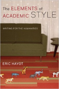 The Elements of Academic Style cover