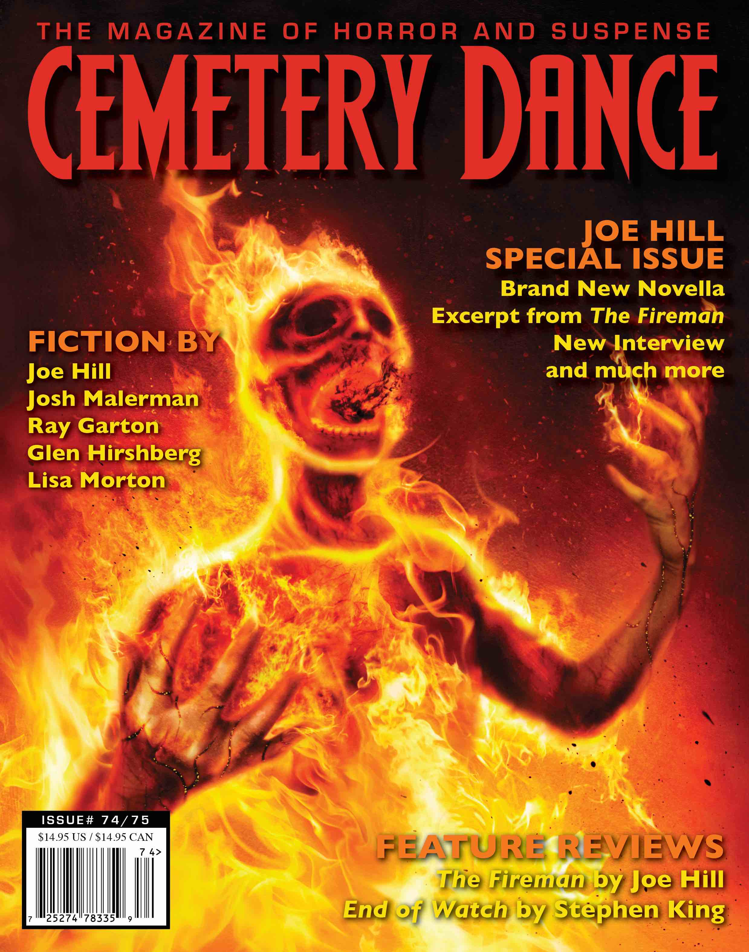 Literary Spotlight: Cemetery Dance