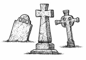A life remembered by gravestones