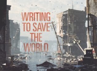 Writing to save the world: cli-fi, or climate change fiction