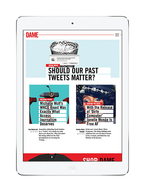 Literary Spotlight: DAME Magazine