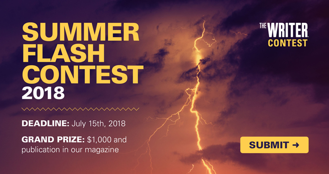 The Writer Flash Fiction Contest
