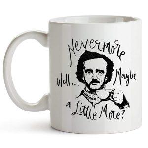 Mug for Edgar Allan Poe fans