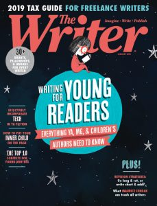 January 2019 issue of The Writer magazine