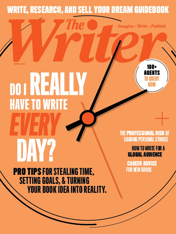 April 2019 issue of The Writer magazine