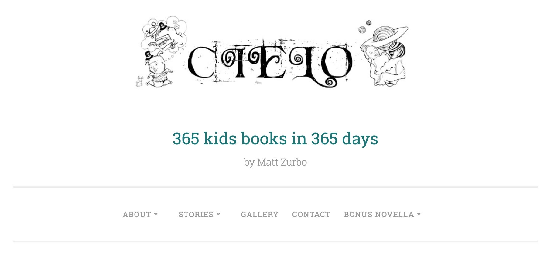 Cielo is Matt Zurbo's project to write a new children's book every day