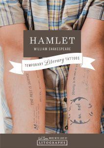Hamlet literary tattoos