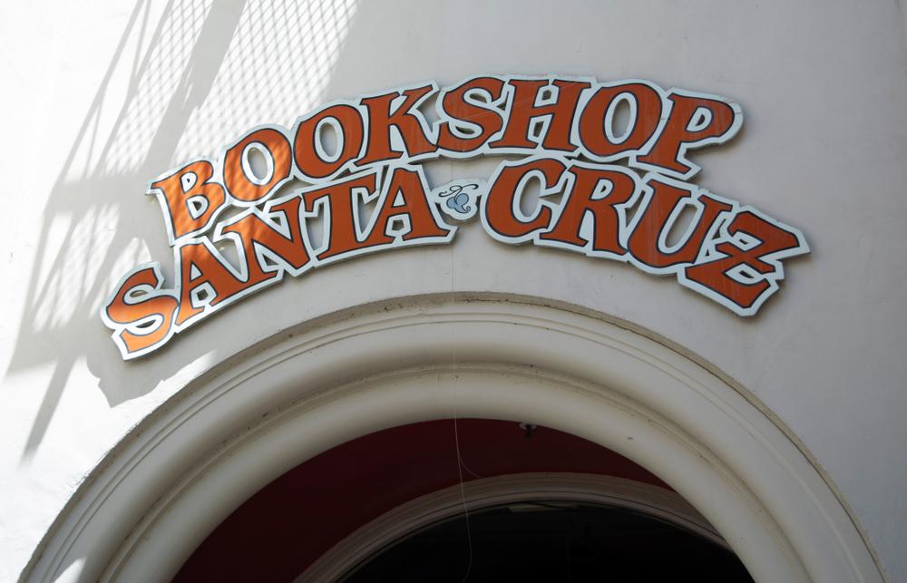 Bookshop Santa Cruz hosts one of our selected writing residencies at independent bookstores