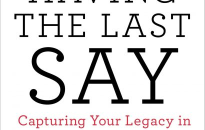 Craft Book Spotlight: Having the Last Say