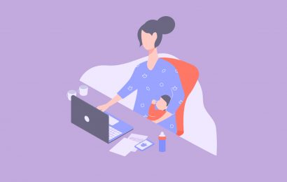 The write-at-home mom