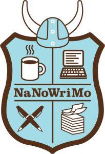 NaNoWriMo's shield logo
