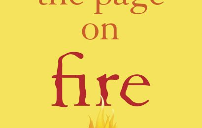 Craft Book Spotlight: Set the Page on Fire