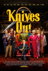 Knives Out is nominated for original screenplays at the 2020 Writers Guild Awards