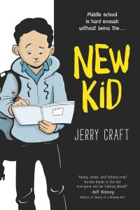 """New Kid"" by Jerry Craft just became the first graphic novel to win a Newbery Medal Award"