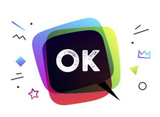 """Is OK or Okay the correct spelling? This image features an illustrated speech bubble with the word """"OK"""" in the middle, spelled O K, not O K A Y."""