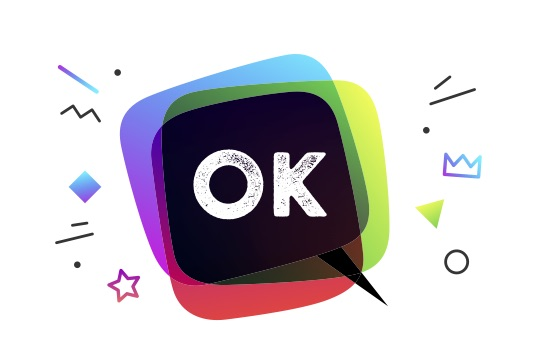 "Is OK or Okay the correct spelling? This image features an illustrated speech bubble with the word ""OK"" in the middle, spelled O K, not O K A Y."