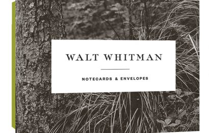 Walt Whitman gift cards are one of our gift ideas for poets.