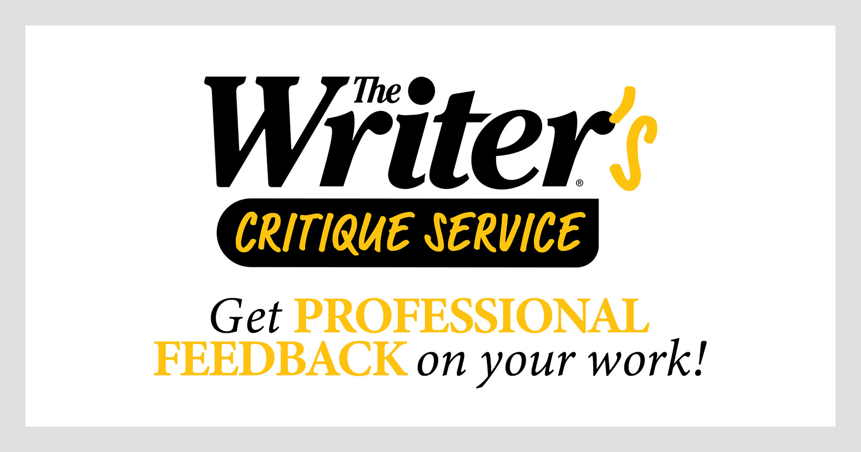 The Writer's Critique Service