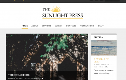 Literary Spotlight: The Sunlight Press