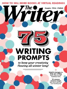 February 2021 issue of The Writer magazine
