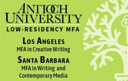 Antioch University's Low-Residency MFA Programs